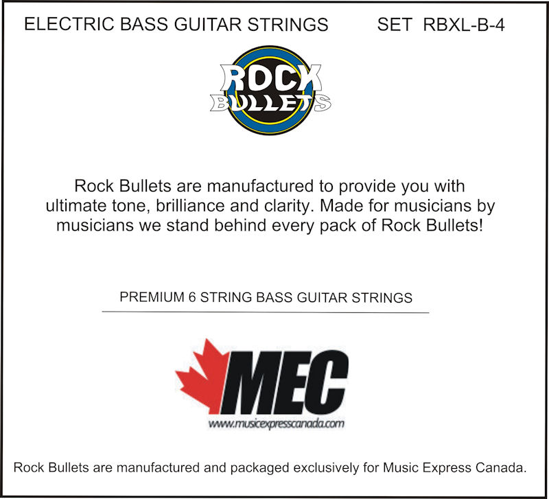 ROCK BULLETS Bass 4