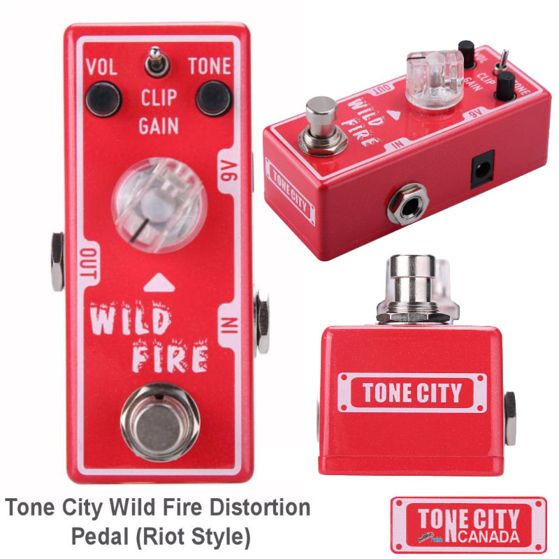 Tone City T1 Wild Fire Distortion