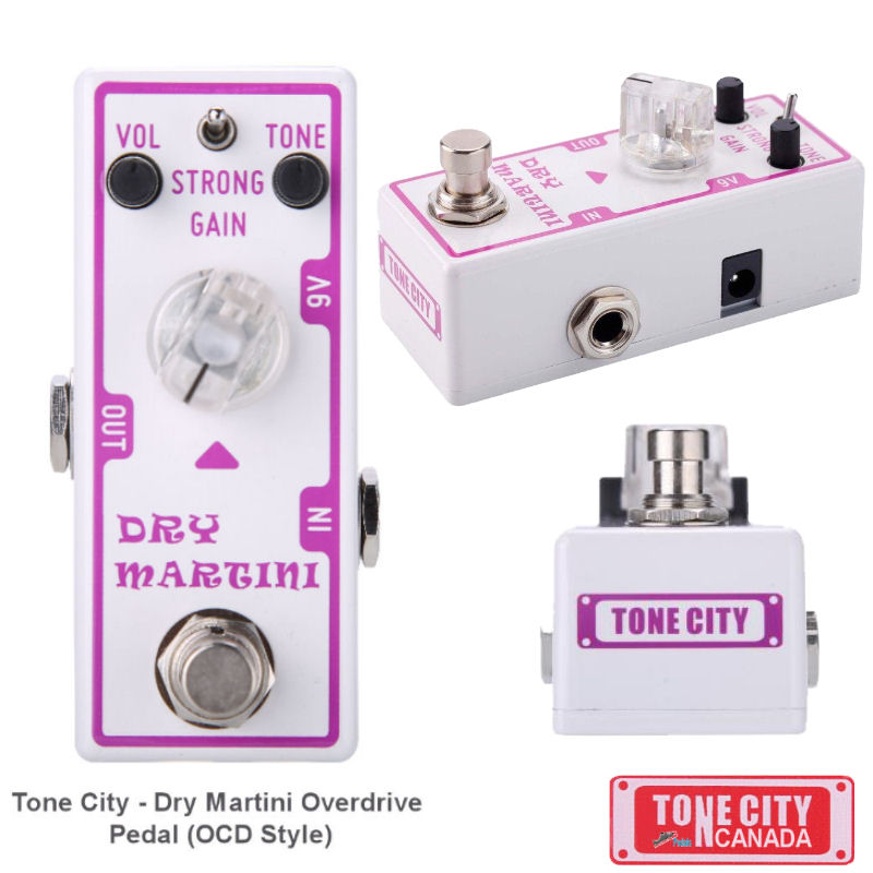 Tone City T2 Dry Martini Overdrive