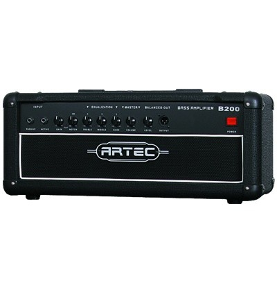 Artec B200H Bass Amp Head