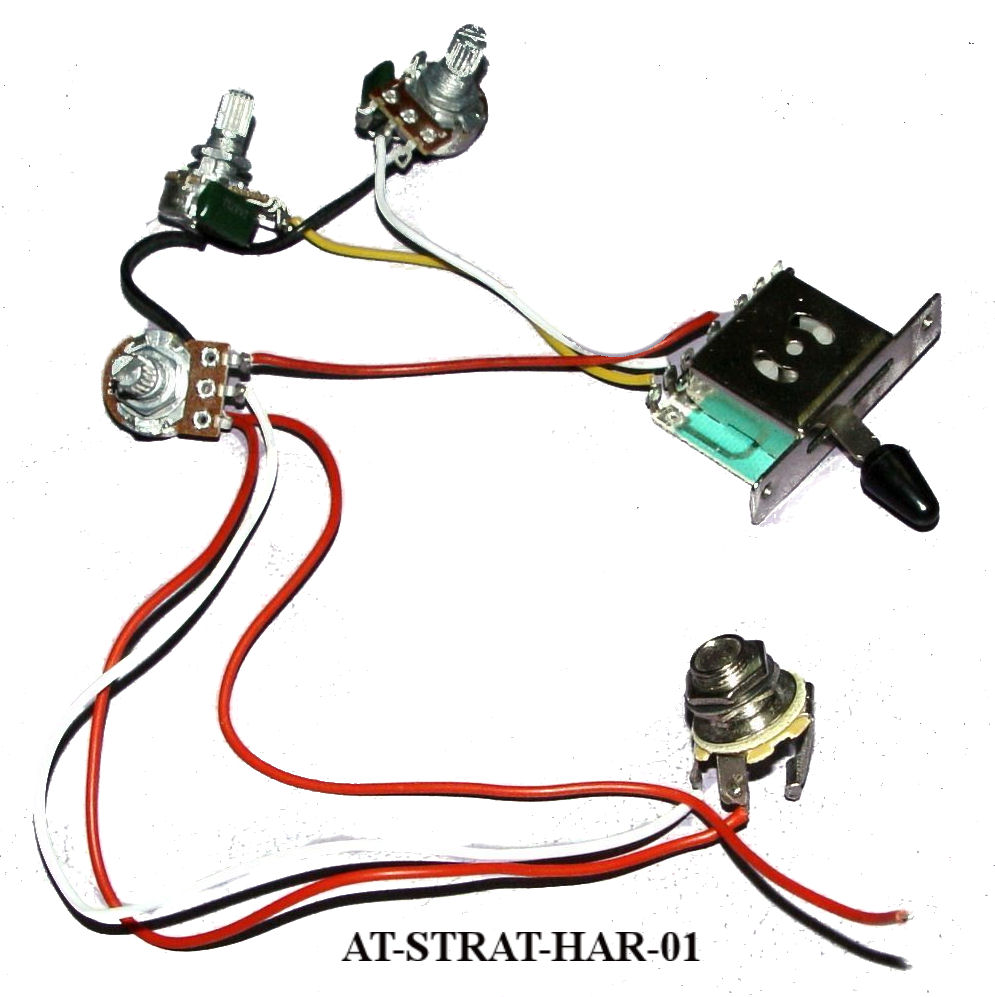 Stratocaster Wiring harness on