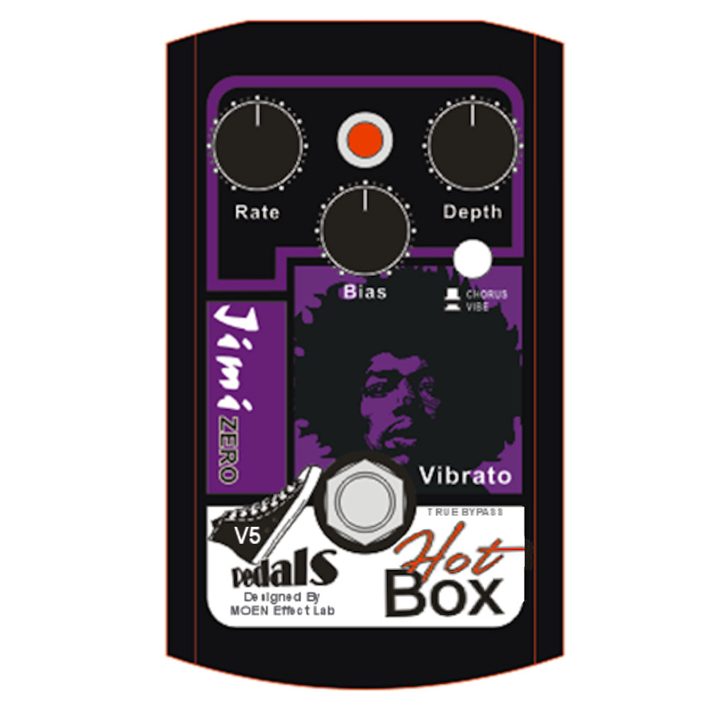 HOT BOX HB-VB5 vers 5Gen 4 Jimi Zero VIBE