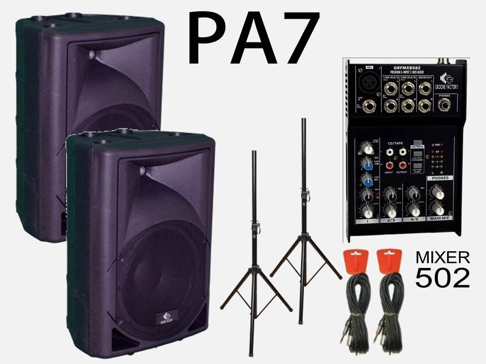 GROOVE FACTORY PA-7 KIT