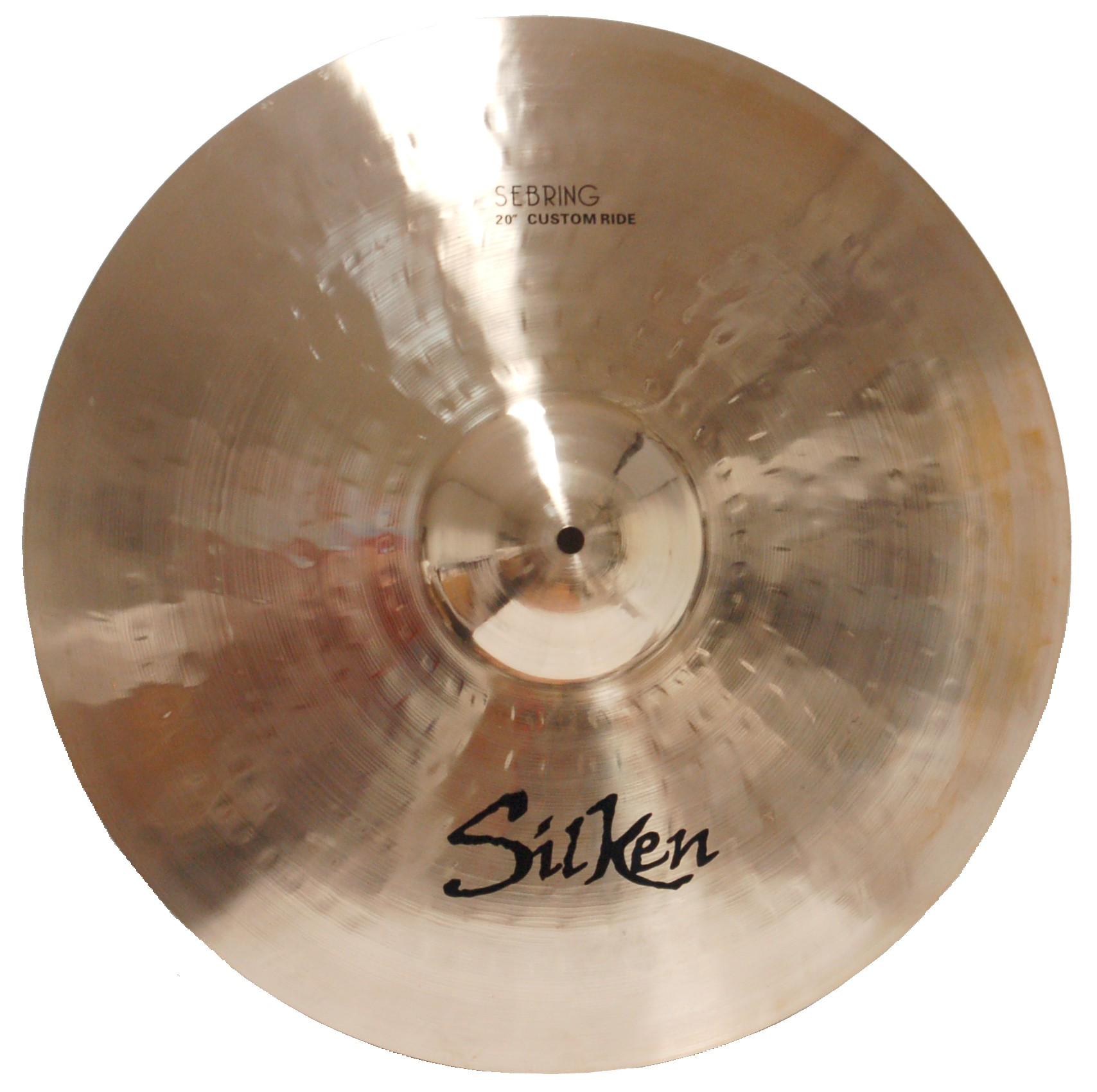 "SILKEN B20 20"" CUSTOM RIDE SEBRING SERIES CYMBAL"