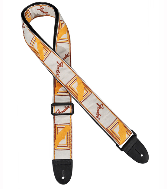 Fender Guitar Strap-Orange