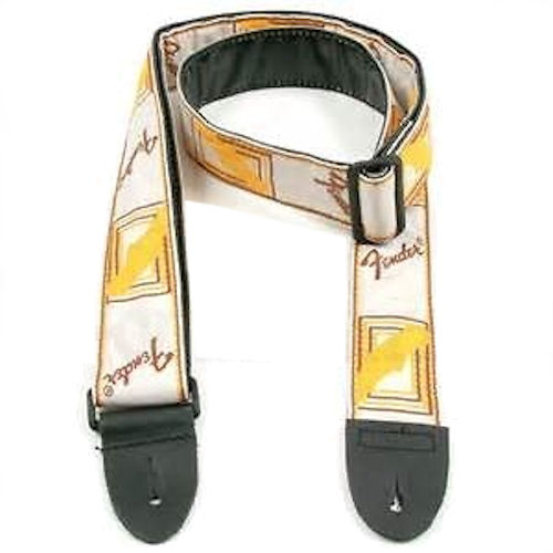 Fender Guitar Strap-Yellow