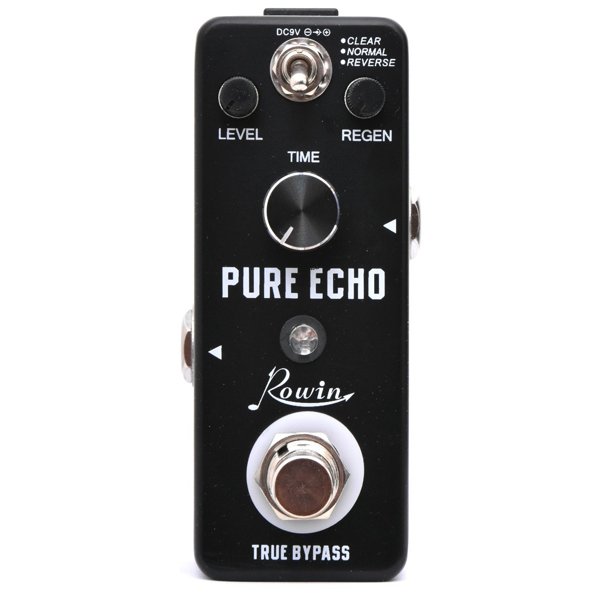 rowin lef 3803 pure echo delay guitar effect pedal music express canada. Black Bedroom Furniture Sets. Home Design Ideas