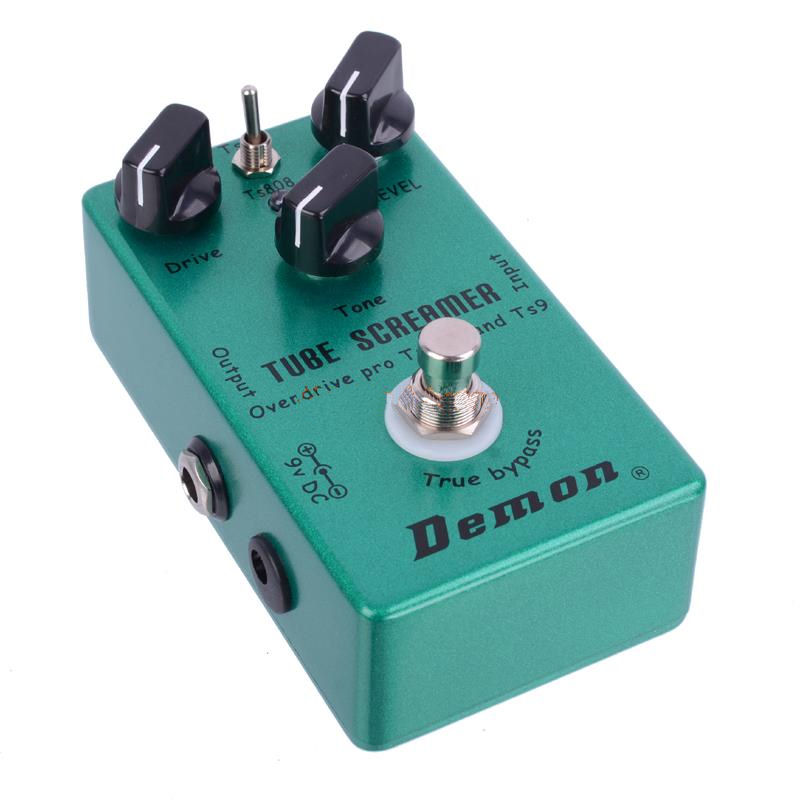 Demon Vintage Tube Screamer TS9 and TS808 with Keeley Plus Mod
