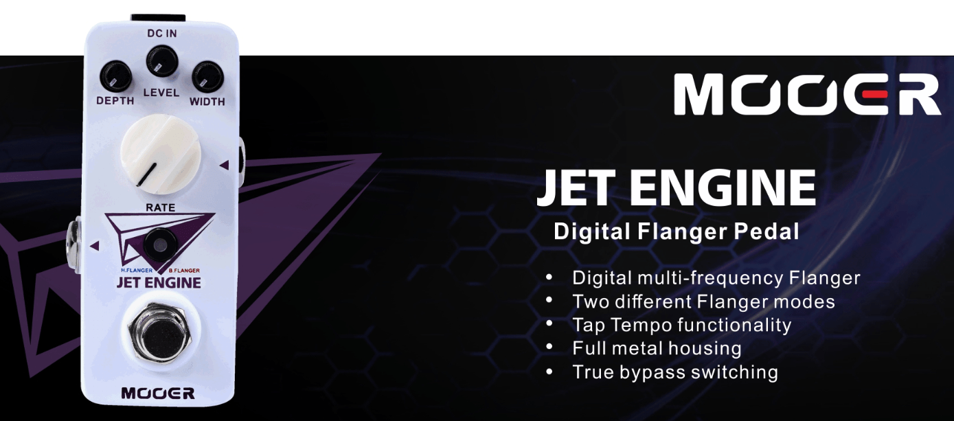 Mooer Jet Engine Digital Flanger