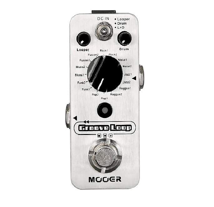 Mooer Groove Loop a Looper and Drummer