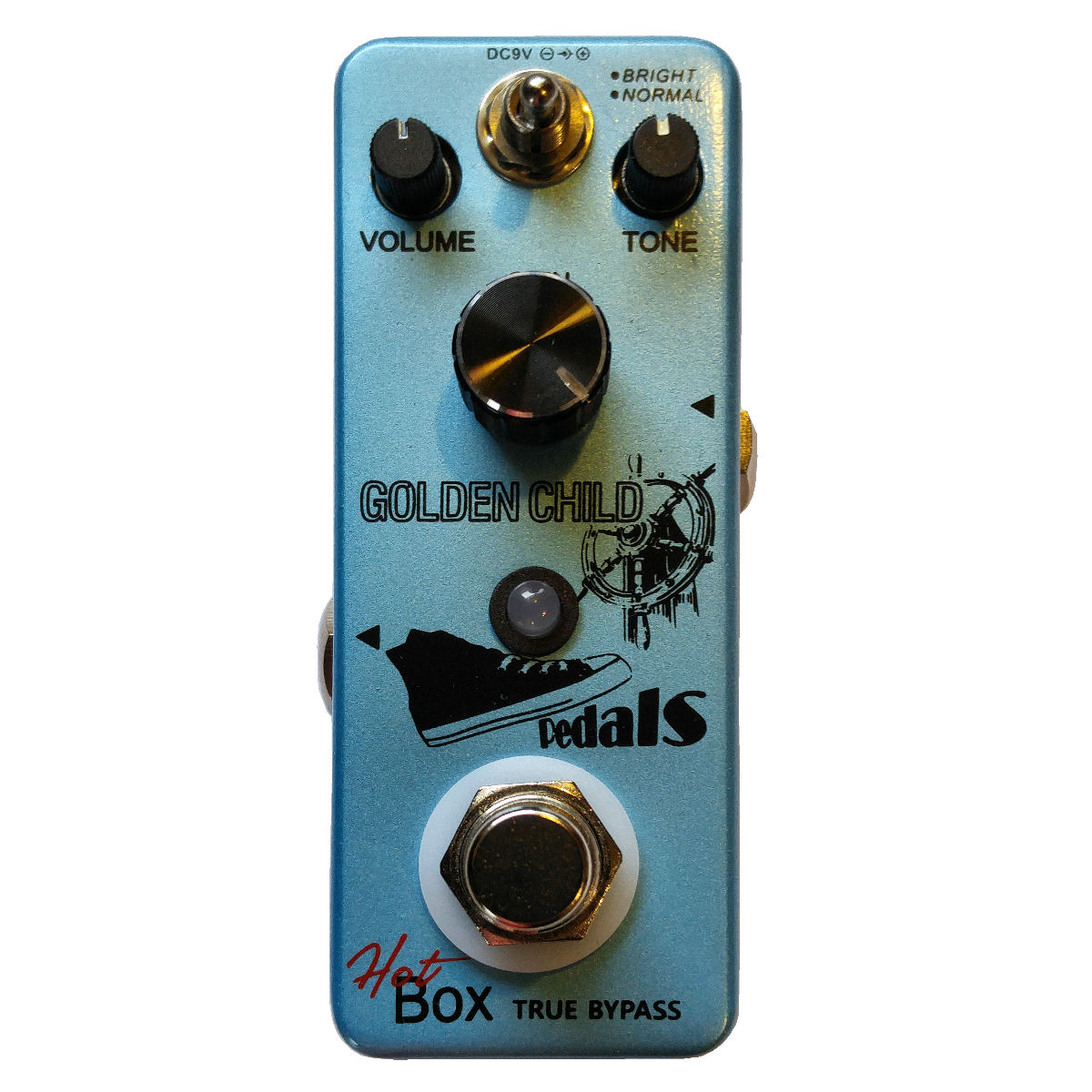 Hot Box Pedals Golden Child Attitude Series