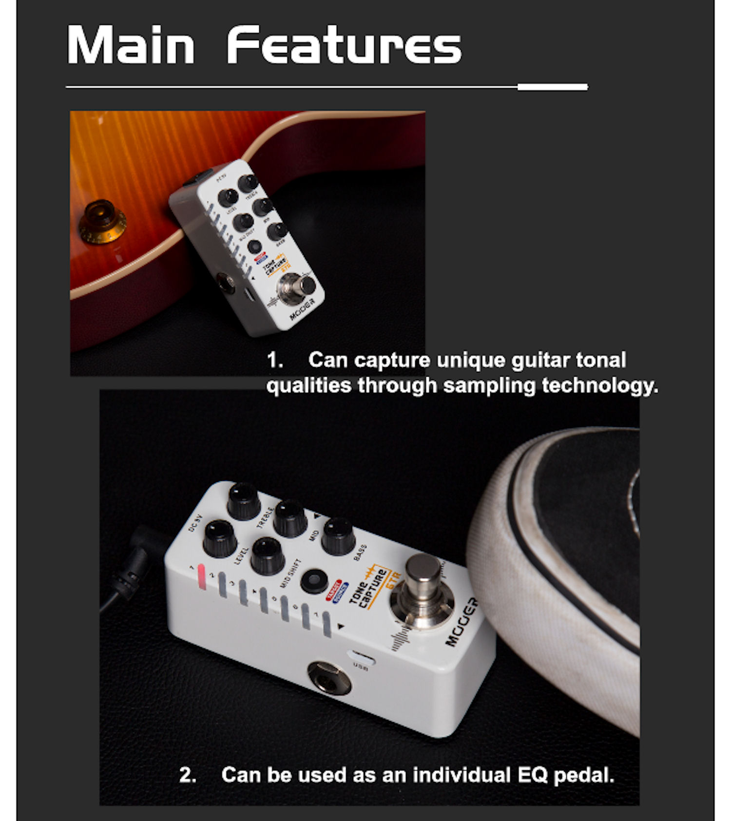 Mooer Tone Capture In Stock