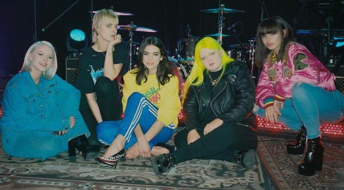 WATCH :: Dua Lipa – IDGAF feat. Charli XCX, Zara Larsson, MØ, Alma