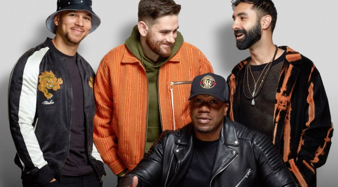 Interview with Rudimental ahead of Creamfields 2018
