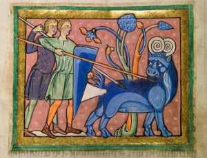 Hunting the Bonnacon, a mythical beast