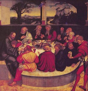 Last Supper, Cranach the Elder
