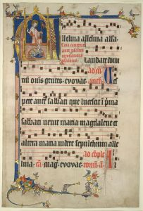 Musical MS with initial A