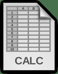 Spreadsheet Document Icon