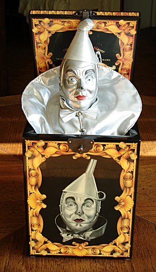 Wizard Of Oz Tin Man In Music Box