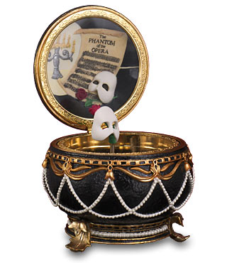 Phantom Of The Opera Musical Trinket Box