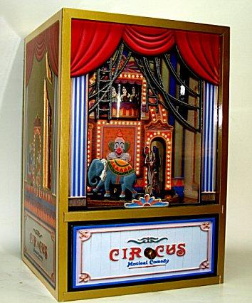 Animated Koji Murai Circus Parade Shadow Box Extra Large