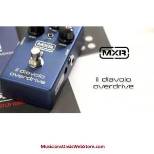 MXR IL Diavolo Overdrive Pedal!