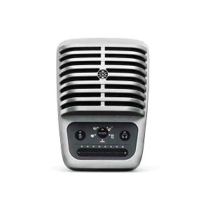 Large-diaphragm Condenser Microphone for iOS and USB