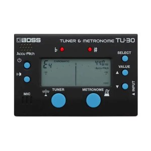 Boss TU30 Tuner & Metronome