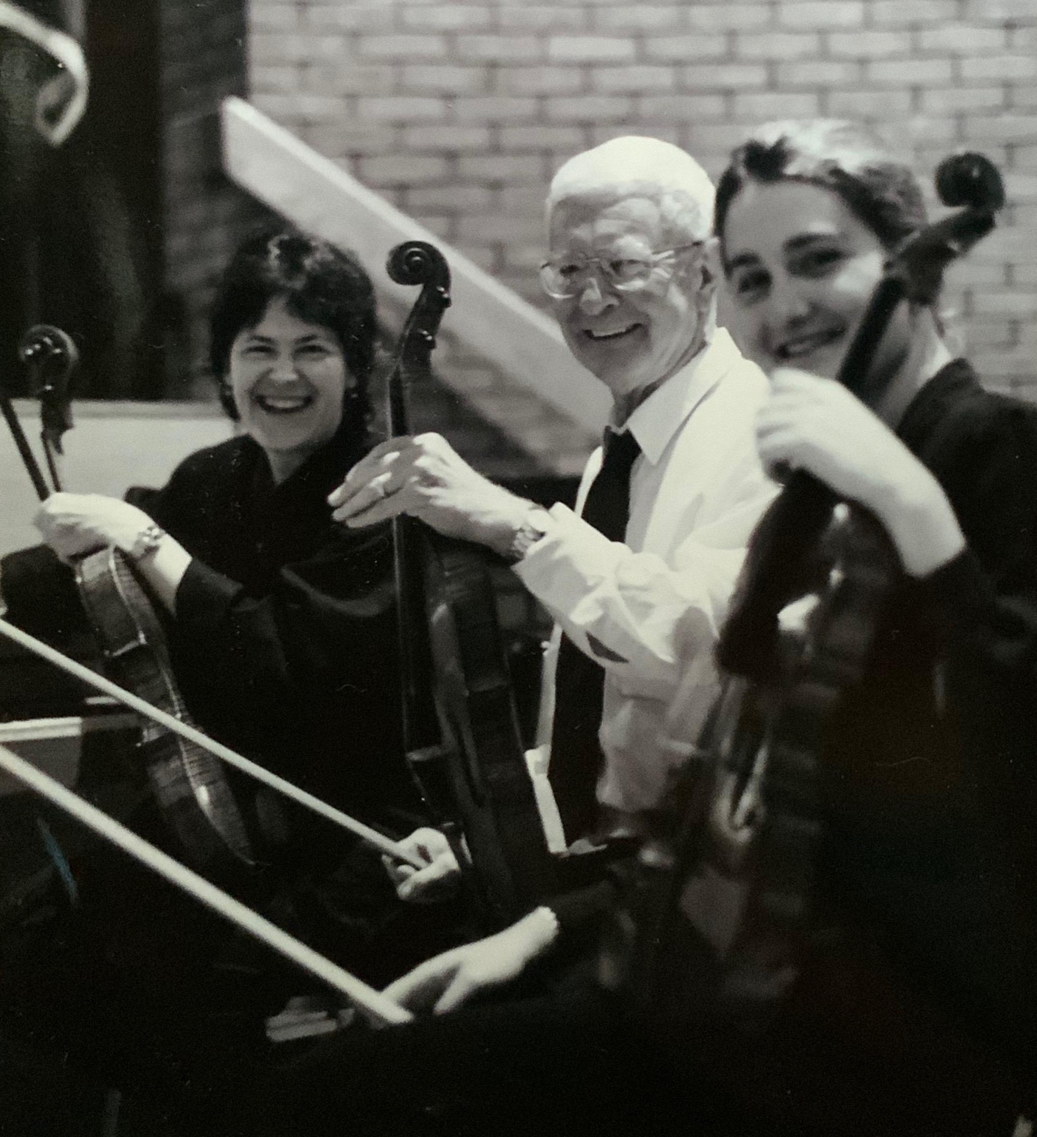 2000 PSO Tour - Stephanie Tretick, Ray Marsh, Marylene Gingras-Roy