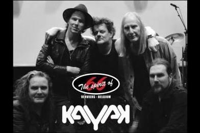 Nouvel album live pour Kayak