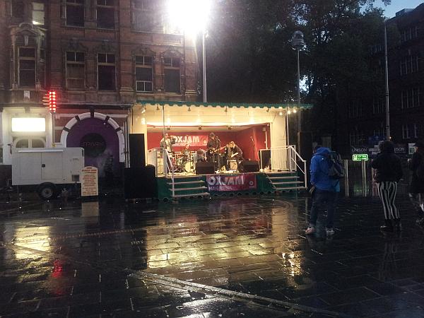 Orton Square stage at Oxjam