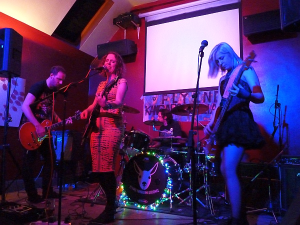 Flying Kangaroo Alliance at Pi Bar Photo Keith Jobey