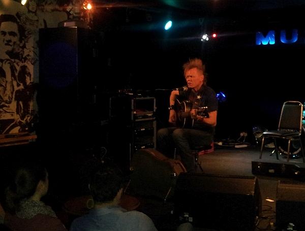 Joe Buck in concert at the Musician