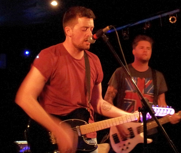 Alex Beattie of The Furies, at The Musician.