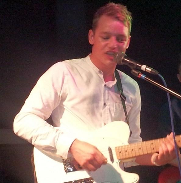 James Lewis lead singer of Violet Cities.