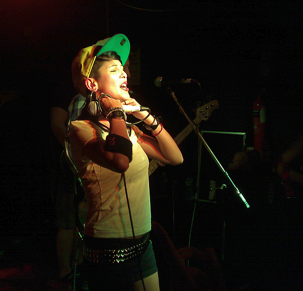 Laila K from Sonic Boom Six, Soundhouse, 2011