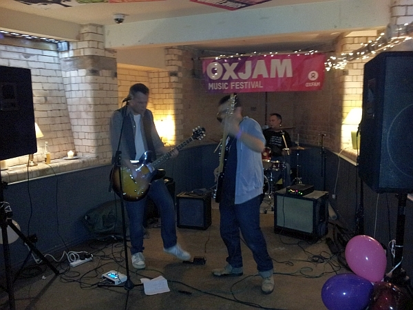 Fourteen Down play at The Exchange Oxjam 2014