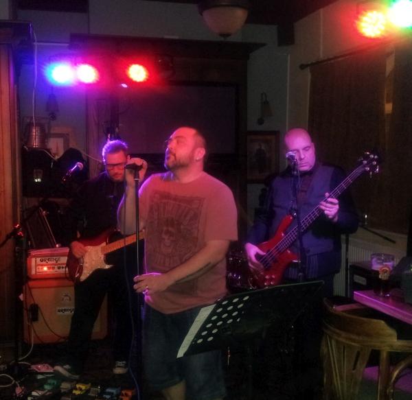 The Big Bad band playing at The Barley Mow, 12th December