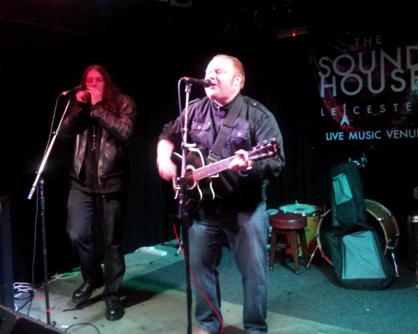 Rhett Barrow and Daz Lynch at The Soundhouse 2015