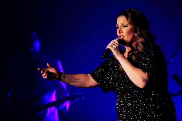 Sam Bailey at the De Montfort Hall 2015 Photo Kevin Gaughan