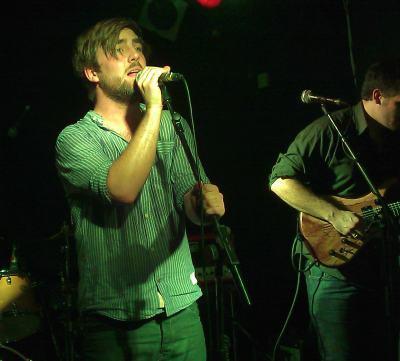 Howard Rose, lead singer of Haich, in 2011