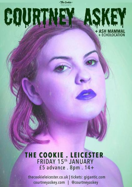Courtney Askey - The Cookie - 15th January