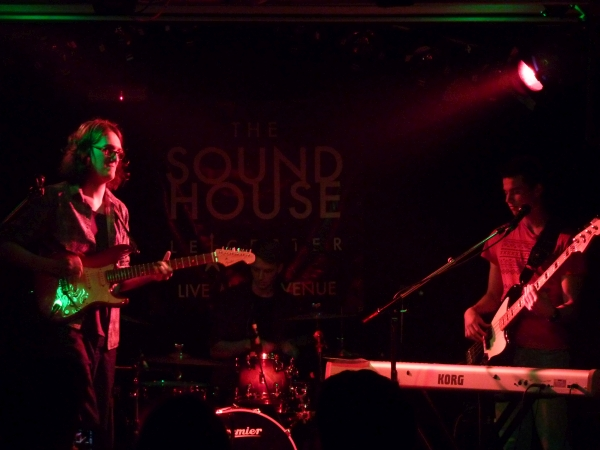 Trilogy at the Soundhouse 9th Sept 2015 Photo: Keith Jobey