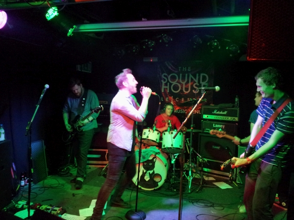 Freeze The Atlantic at The Soundhouse, 2015