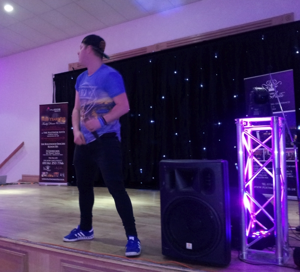 Jonezy at Leicester's Got Talent