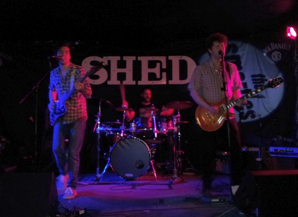 The Smarties playing at The Shed