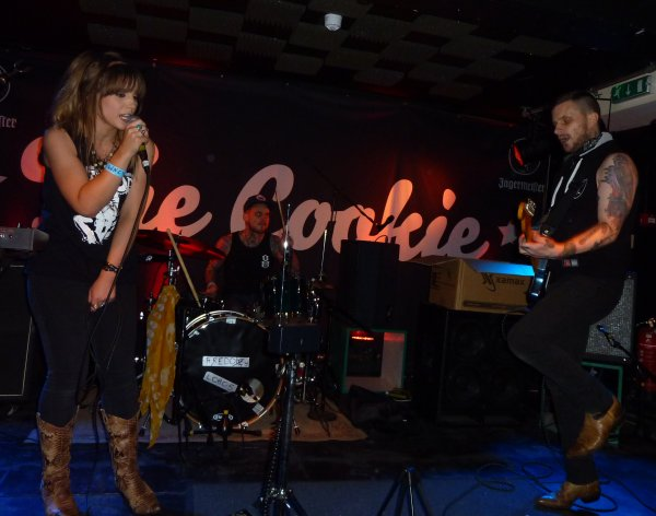 We Three and the Death Rattle at the Cookie. Photo: Keith Jobey.