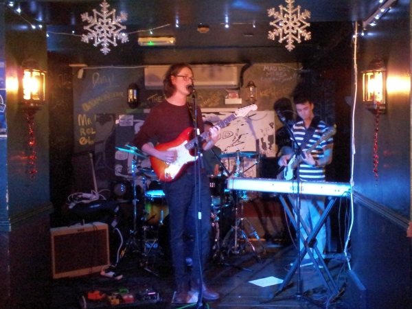 Trilogy at Duffy's Bar, December 2015