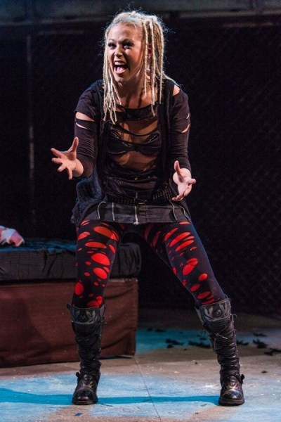 American Idiot. Amelia Lily as Whatsername. From the 2015 London Production. Photo: Darren Bell.