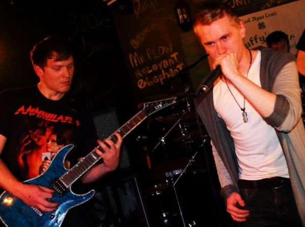 Fear Bound at Duffys, March 6th 2016 Photo: Kevin Gaughan.